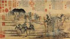 20041012国宝档案视频和笔记:富春山居图,真假鉴定,沈周,乾隆