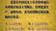 20100508收藏马未都视频和笔记:康熙青花,双犄牡丹,斧披皴,寄托款