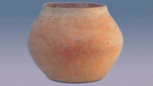 磁山红陶和磁山文化,烧制工艺,分...