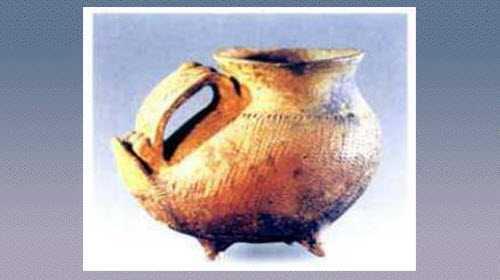 鸭形灰陶器的图片,特征和器形