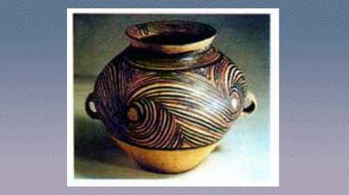 旋涡纹彩陶罐的图片,尺寸,器形和特征