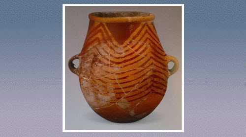 红山彩陶器的分布,烧制原料,特征器皿,图案花纹