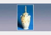 青花牡丹纹塔式盖瓶的图片,尺寸,年代,器形,特征,纹饰