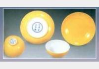 淡黄釉杯碟(四件)的图片,估价,成交价,尺寸,年代,特征