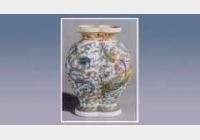 珐琅彩龙凤纹双连瓶的图片,尺寸,年代,特征,纹饰,器形