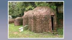 葫芦形窑模型和遗址,烧制特点