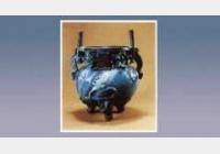 钧窑凸雕龙纹双耳炉的图片,估价,成交价,尺寸,年代,特征