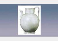 越窑青釉瓜棱壶的图片,估价,成交价,尺寸,年代,特征,纹饰