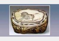 磁州窑虎纹枕的图片,估价,成交价,尺寸,年代,特征,纹饰