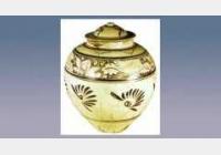 磁州窑褐彩莲花大罐的图片,估价,成交价,尺寸,年代,特征