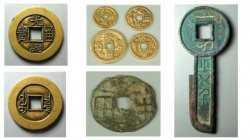 20120128一槌定音视频和笔记:银锭,民俗钱,雕母钱,秦半两,王莽币