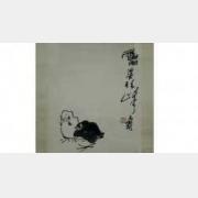 20120205一槌定音视频和笔记:潘天寿,柳叶瓶,玉佩饰,天官像,笔筒