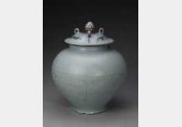 元钧窑天蓝釉紫红斑盖罐的图片,特点,年代,鉴赏,馆藏