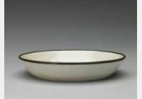 金定窑白釉印花海兽鱼纹洗的图片,特点,年代,鉴赏,馆藏