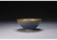 宋金钧窑天蓝釉碗的图片,特点,年代,鉴赏,馆藏