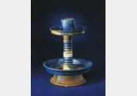 唐三彩烛台的图片,特点,年代,鉴赏,馆藏