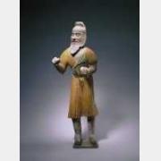 唐三彩胡人俑的图片,特点,年代,鉴赏,馆藏
