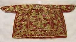 20041019国宝档案视频和笔记:法门寺(2),玳瑁币,武后绣裙,阿育王