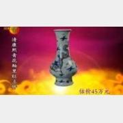 20091220华豫之门视频和笔记:釉里红,绿釉碗,佛像,唐卡,刘继卤