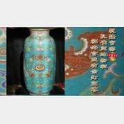 20090213天下收藏视频和笔记:乾隆官窑粉彩灯笼瓶,青花灯笼尊