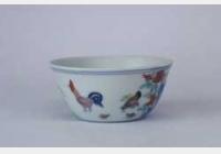 明成化斗彩鸡缸杯的图片,特点,年代,鉴赏,馆藏