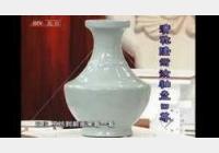 20090227天下收藏视频和笔记:汝釉盘口尊,冬青釉花盆,汝窑三足炉