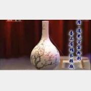 20090306天下收藏视频和笔记:粉彩喜上眉梢长颈瓶,天球瓶,粉彩碗