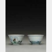 清雍正仿成化斗彩高士杯的图片,特点,年代,鉴赏,馆藏