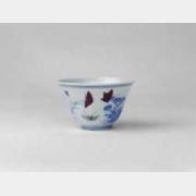 明成化斗彩三秋杯的图片,特点,年代,鉴赏,馆藏