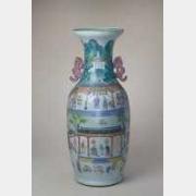清道光粉彩御窑厂图大瓶的图片,特点,年代,鉴赏,馆藏