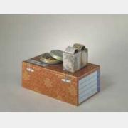清乾隆粉彩描金书函式金钟笼的图片,特点,年代,鉴赏,馆藏