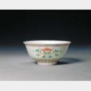 清雍正粉彩葫芦纹碗的图片,特点,年代,鉴赏,馆藏