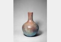 清雍正款仿钧新紫釉天球瓶的图片,特点,年代,鉴赏,馆藏