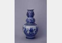 清乾隆青花八仙过海图葫芦瓶的图片,特点,年代,鉴赏,馆藏