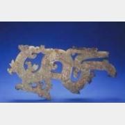 战国玉镂雕龙形佩的图片,特点,年代,鉴赏,馆藏