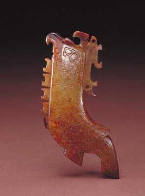 商玉鸟形佩的图片,特点,年代,鉴赏,馆藏