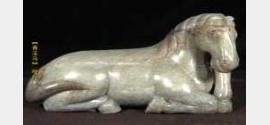 20110806收藏马未都视频和笔记:明青玉马,清铜腰牌,宋虎符,双马坠
