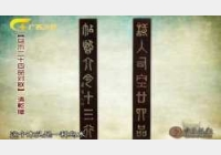 20110820收藏马未都视频和笔记:清乌木对联,宋影青瓷,永乐抱月瓶