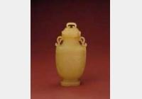 清乾隆黄玉兽面纹盖尊的图片,特点,年代,鉴赏,馆藏