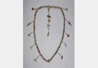 汉白玉珠串的图片,特点,年代,鉴赏,馆藏