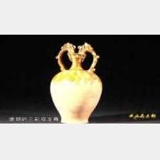 20120126收藏马未都视频和笔记:唐三彩双龙尊,金瓷枕,五彩龙纹盘