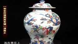 20120414收藏马未都视频和笔记:粉彩将军罐,青花罐,窑变红大瓶