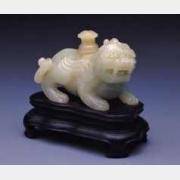 清青玉异兽砚滴的图片,特点,价格,鉴赏,馆藏