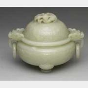 清青玉活环炉的图片,特点,价格,鉴赏,馆藏