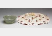 清青玉碗(鄂图曼帝国蔓连花边圆碗)的图片,特点,价格,鉴赏