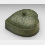 清青玉桃式盒的图片,特点,价格,鉴赏,馆藏