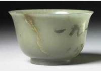 清青玉撇口碗(4)的图片,特点,价格,鉴赏,馆藏