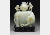清青玉象尊的图片,特点,价格,鉴赏,馆藏