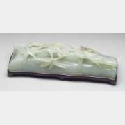 清青玉竹枝臂搁的图片,特点,价格,鉴赏,馆藏