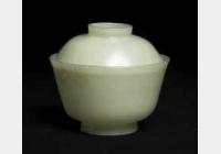 清青玉盖碗的图片,特点,价格,鉴赏,馆藏
